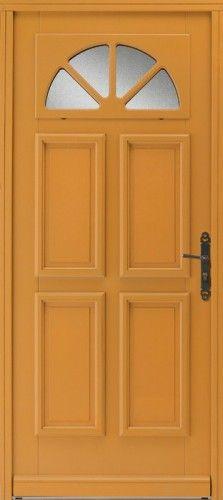 Porte bois, Porte entree, Bel'm, Classique, Poignee plaque rustique, Petit vitrage, Double vitrage imprime 200, Brasilia