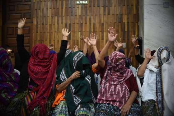 Guatemala City, Guatemala - JOHAN ORDONEZ/AFP/Getty Images