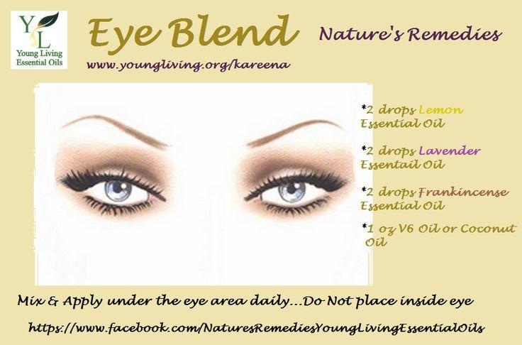 Eye Blend Young Living Facial Recipe Eye Blend Young