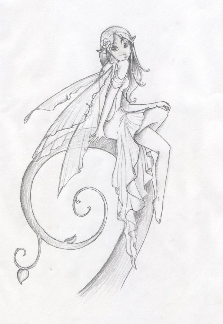 It is a graphic of Dashing Fairy Drawing Tumblr