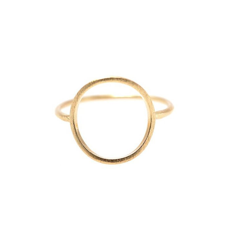 JZ027 Sparkling Hoop Ring for Women Pave Rose Gold Gold Plated Fashion Big Engagement Circle Rings Jewelry Top Quality