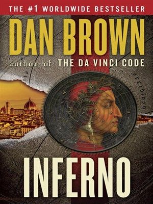 Inferno by Dan Brown. Tom Hanks will be reprising his role as Professor Langdon, made famous in the Da Vinci Code and Angels and Demons! #Suspense #Thriller