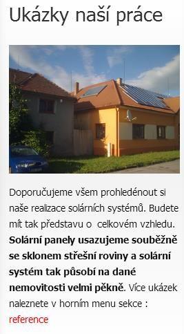 Solární systémy http://solarnisystemynaohrevvody.cz/solarni-systemy