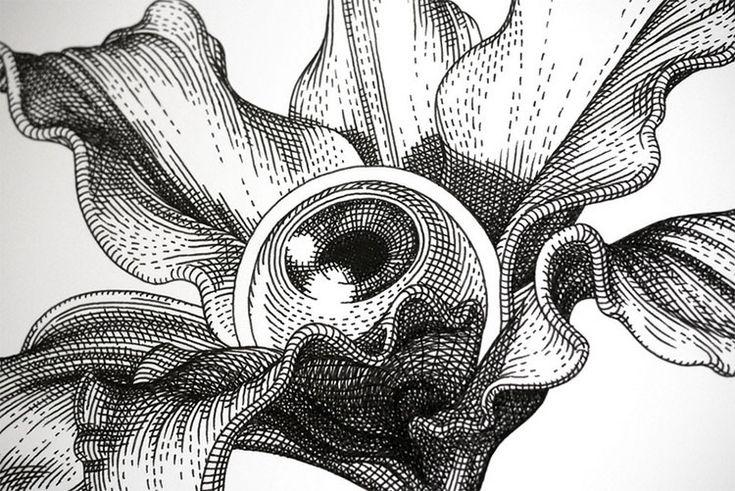 Olivia Knapp y sus Increíbles y Detalladas Ilustraciones Surrealistas   FuriaMag   Arts Magazine