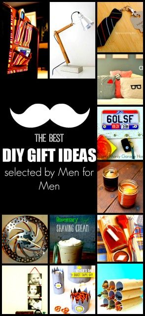 DIY Gift Ideas for Men that will amaze him. 35 Gifts you can do yourself for your husband, brother, or father.
