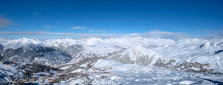 Panorama La Plagne
