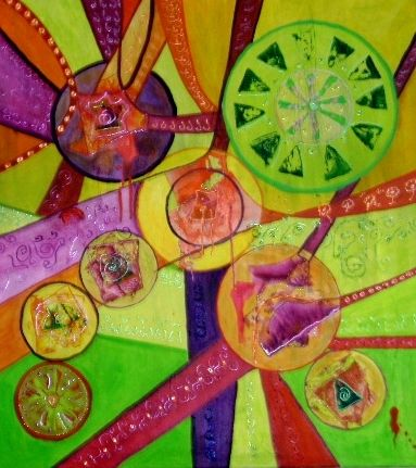 Serie zendala by Florencia Mittelbach