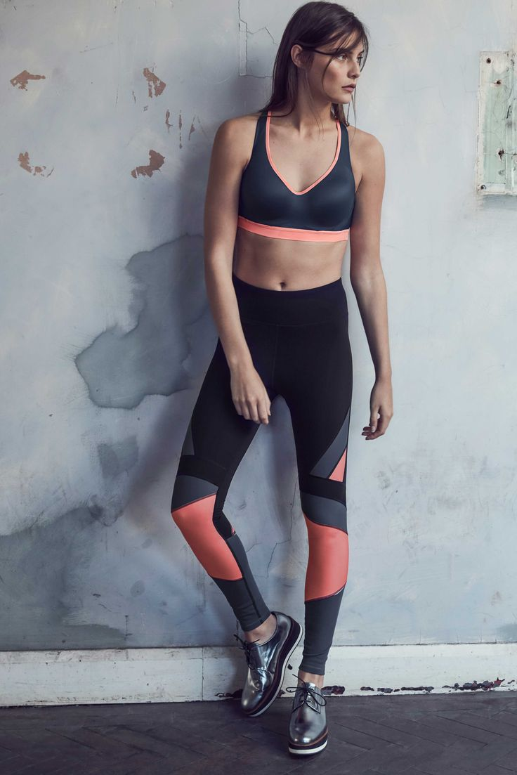 Meet the colour-block leggings that will keep you looking hot during every workout.