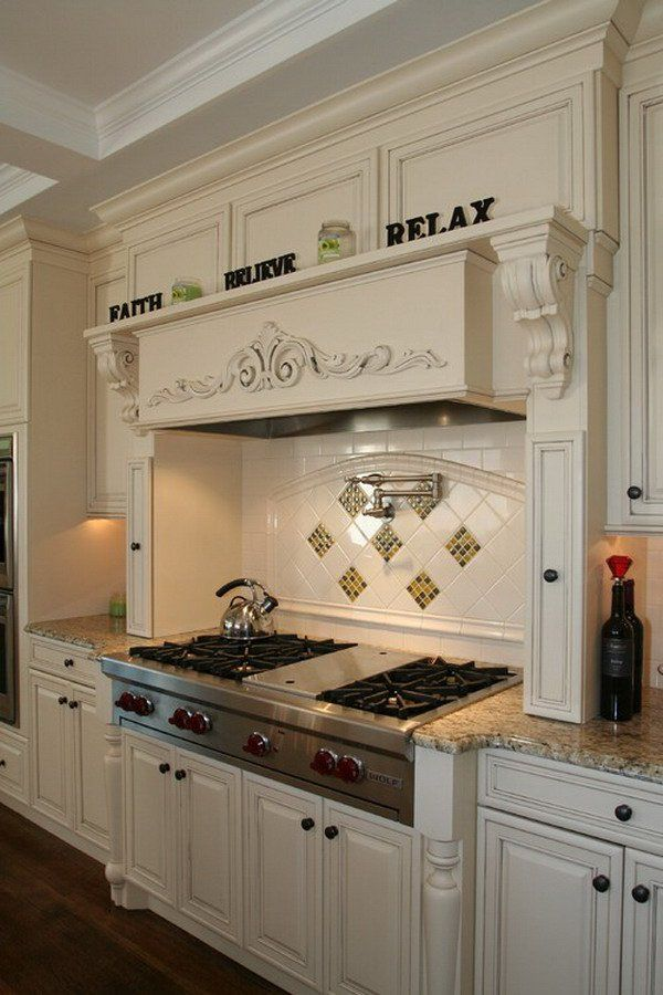 50 beautiful kitchen design ideas for you own kitchen for Italian kitchen hood