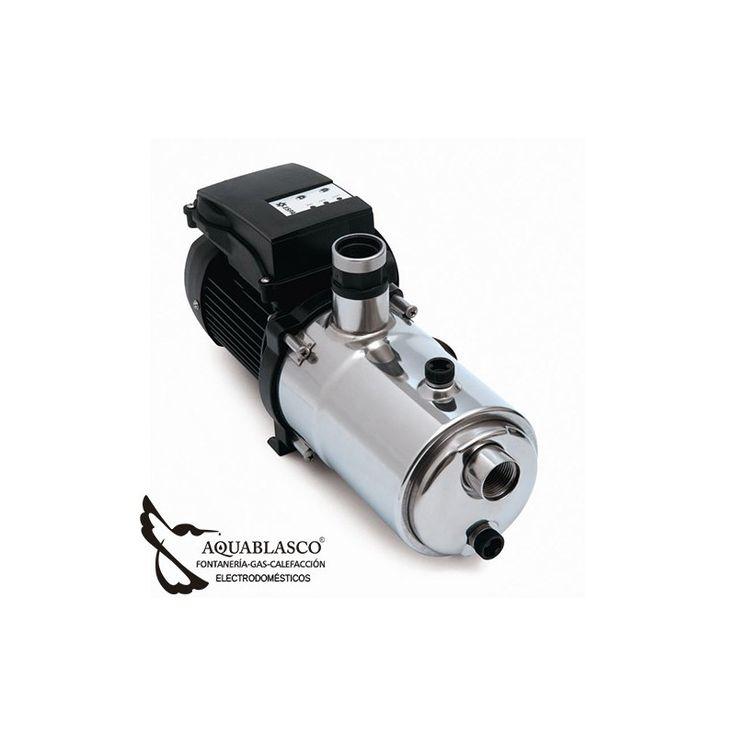 En www. aquablasco.com  te ofrece una Electrobomba centrífuga multietapa monobloc horizontal a velocidad variable a través del sistema ESPA Speed Driver.Lo mas eficiente en el mercado.