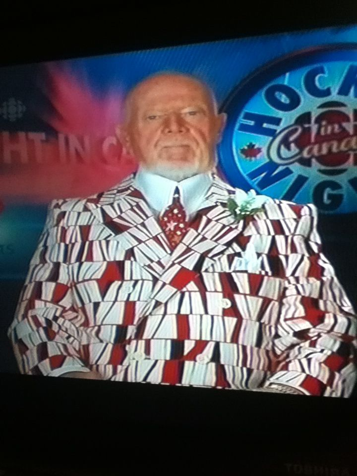 Don Cherry wearing his unique suits