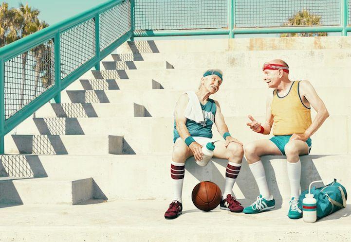 Senior Citizens Display Spirit and Spunk in Humorous Sports Photos - My Modern Met