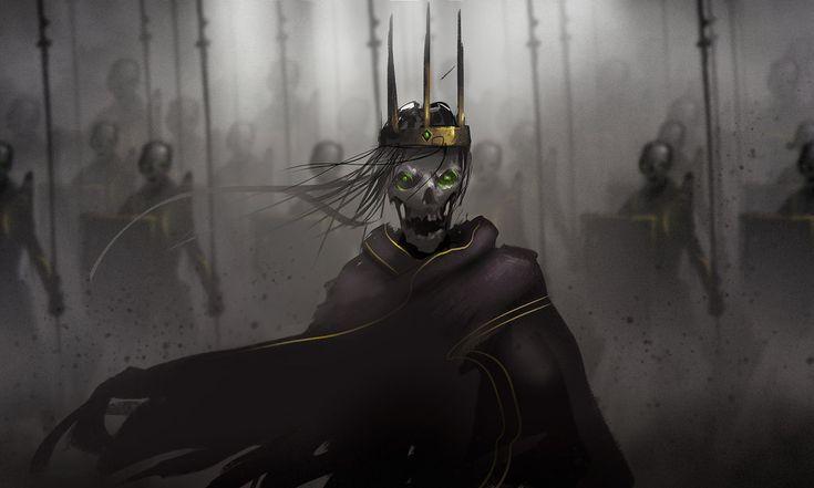 Skeleton Lord by Ullbors