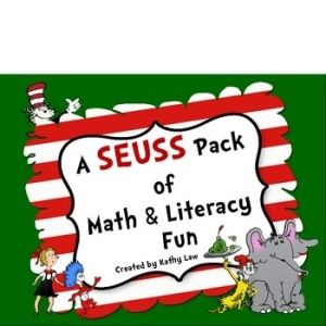"A ""Seuss"" Pack of Math and Literacy Fun by Sadie Gordon"
