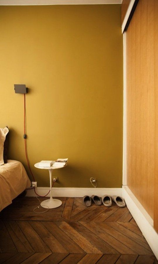 A Favorite Fall Color: Soulful Saffron Yellow | Apartment Therapy