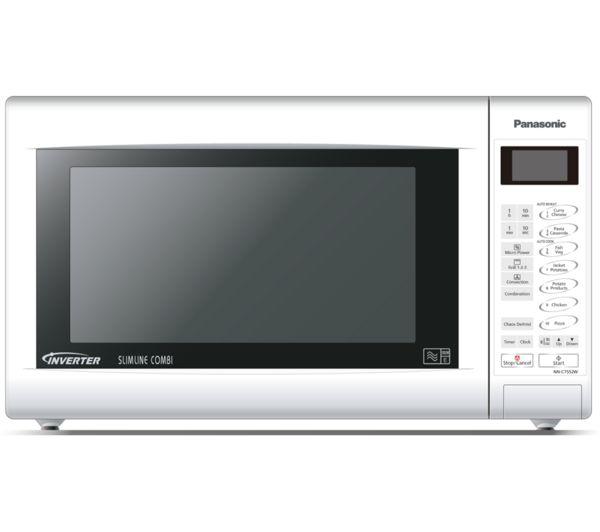 Buy Panasonic Nn Ct552wbpq Combination Microwave White