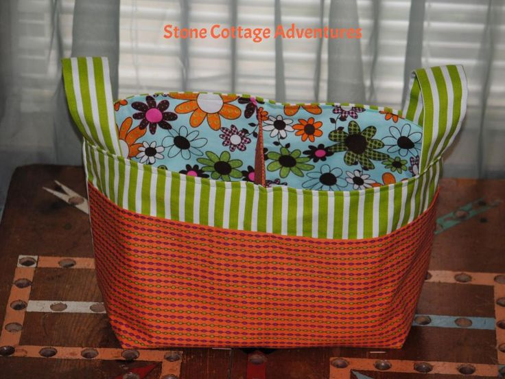 Sewing = Divided Basket {Stone Cottage Adventures} #30