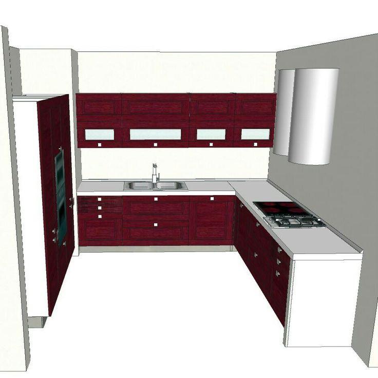 17 migliori idee su cucina ad angolo su pinterest panchine per sedere panca per cucina e - Panca ad angolo per cucina ...