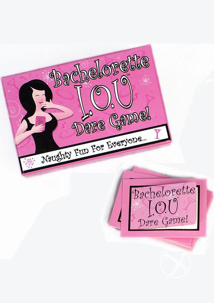 Buy Bachelorette Iou Dare Game online cheap. SALE! $8.49