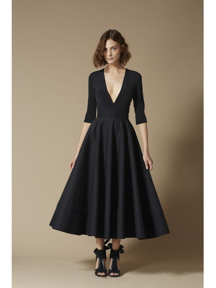 Delphine Manivet. Prospere evening dress : Minimal + Classic