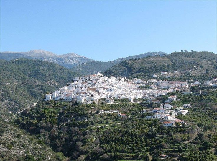 #Canillas_de_Albaida, en la Comarca de la Axarquía, de reminiscencia árabe, lugar blanco y sinuoso, ofrece al visitante sus monumentos religiosos, su rico entorno natural y su contundente gastronomía para disfrutar de una grata y tranquila experiencia.