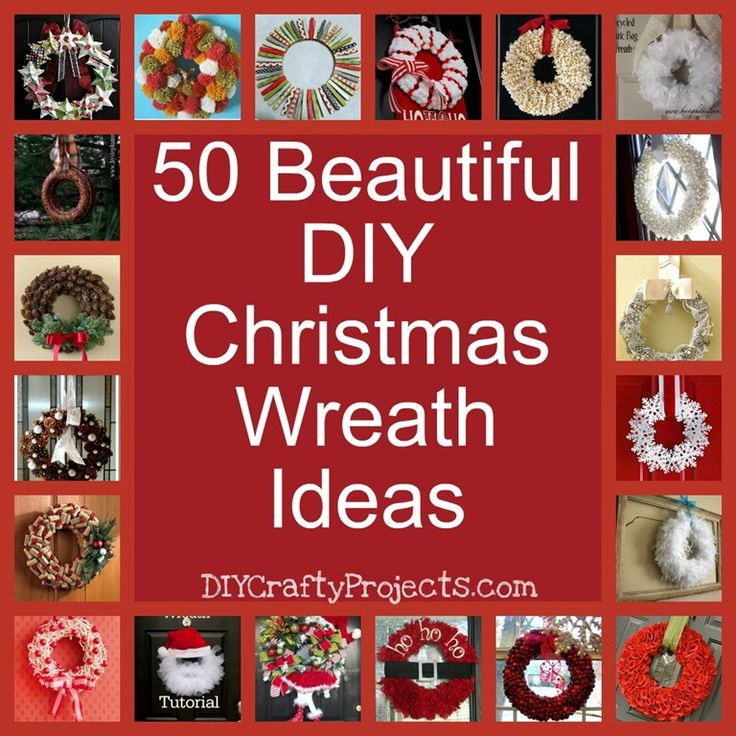 50 beautiful Christmas Wreath Ideas and Inspiration Collection