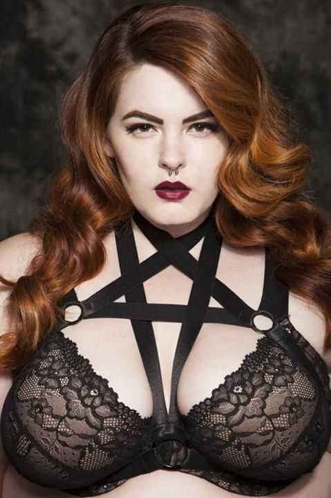 Plus size harness dress