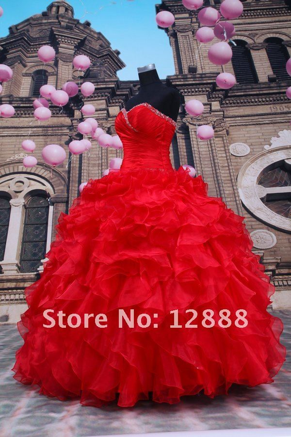 red quinceanera dresses - Google Search