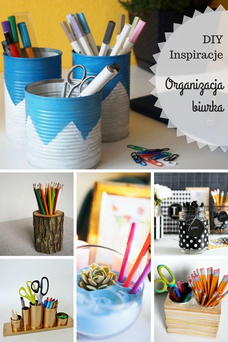 DIY + Inspiracje Organizacja biurka  Origami Frog - kreatywny blog diy, zrób to sam