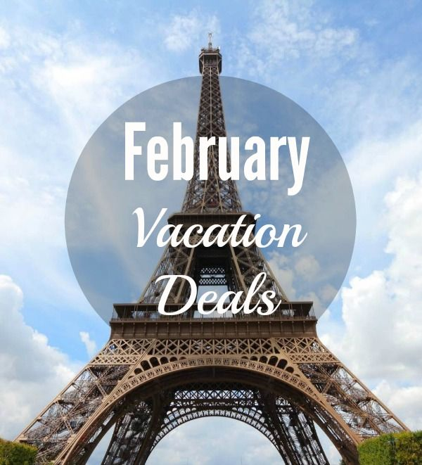 february vacation deals