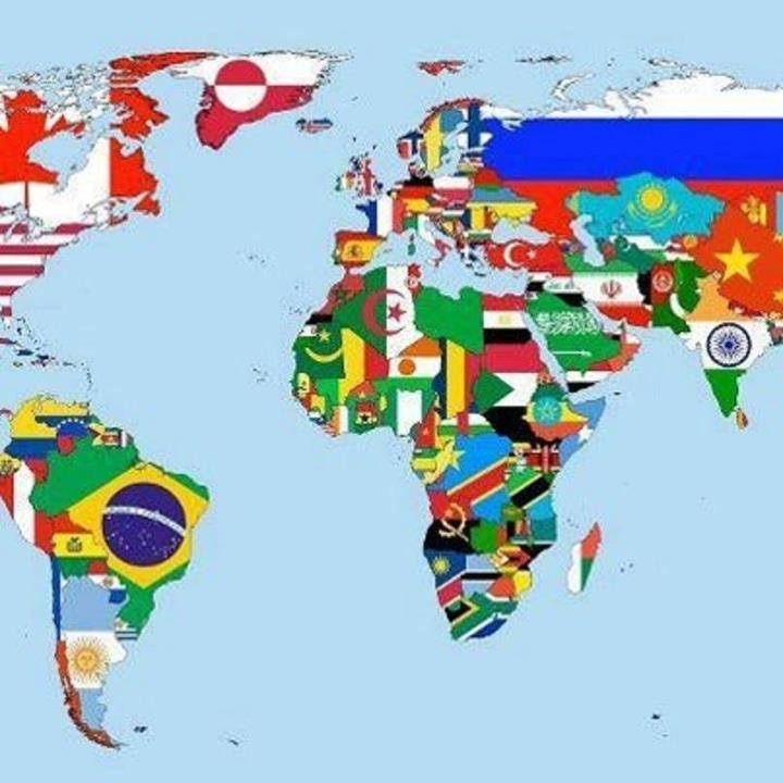 46 best flags images on pinterest flags of the world county world map of flags poster sciox Choice Image