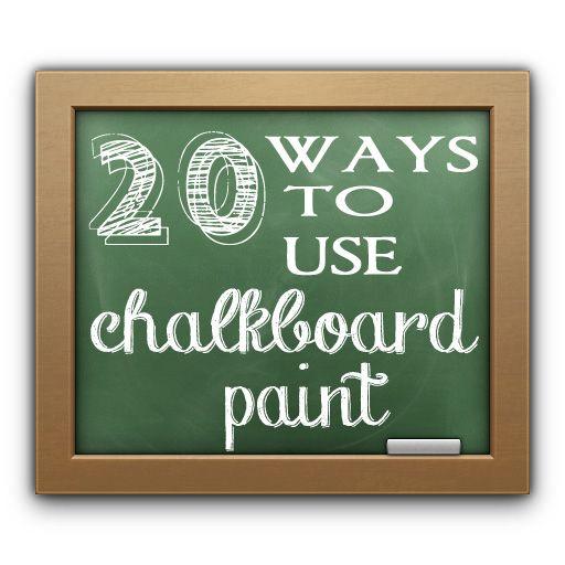 17 Best images about Chalkboard Paint on Pinterest   Jars ...