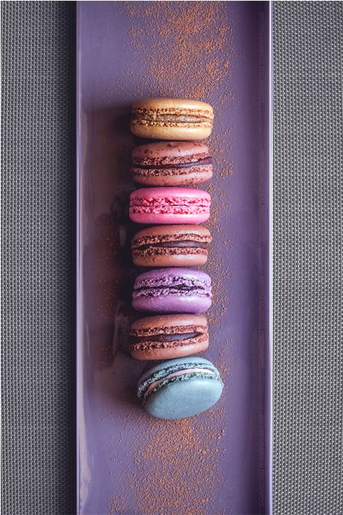 """mistergoodlife: """"Delicious looking Macarons. Although the macaron is predominantly a French confection, there has been much debate about its origins. Larousse Gastronomique cites the macaron as being..."""
