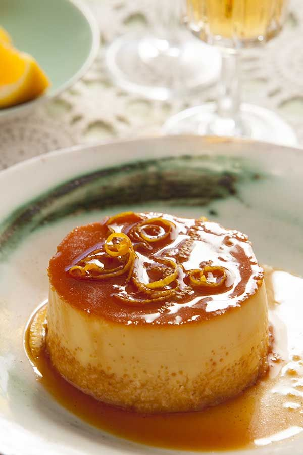 Baked custards in caramel sauce - These treats by chef Jenny Morris are so irresistible, you'll want to make them for breakfast! They're from her latest cookbook 'Taste the World with Jenny Morris'