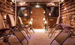 Groupon -  45-minute Salt Cave Session and Sauna Session for One or Two at GWCbody (Up to 73% Off).  in Holmesdale-Lansdowne. Groupon deal price: C$19