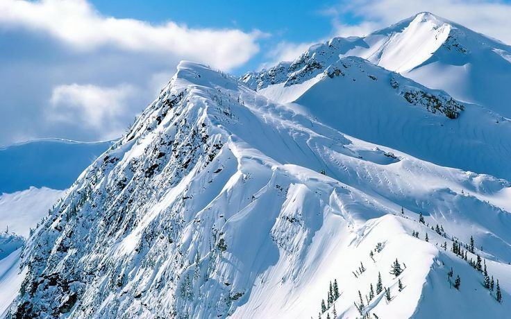 beautiful mountains covered in snow - Google Search