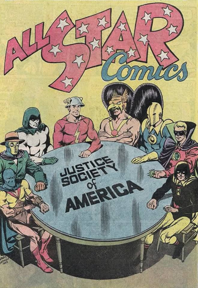 1st appearance of the JSA