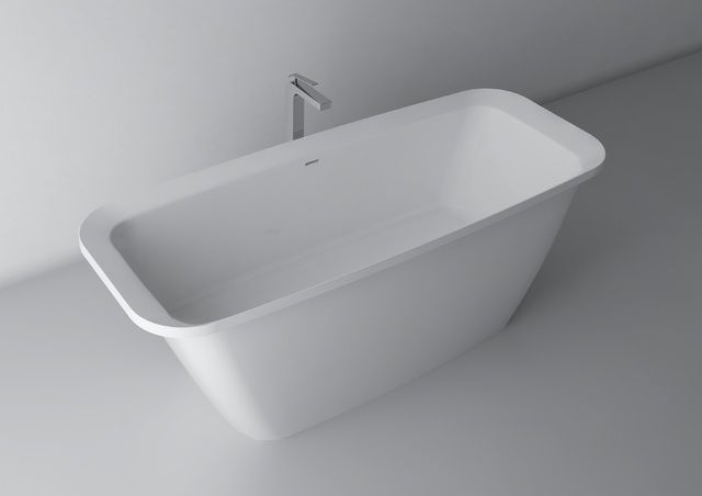 Modern freestanding baths more often surprise with their original form. Flexibility of available materials, including Marmite's cast marble, allows to form bathtubs in free forms and shapes. With their help it is possible to create an interesting living room bath maintained at a fashionable, minimalist style.  http://www.marmite.eu/pl/produkt/771/show/wanna-alexia-1700/