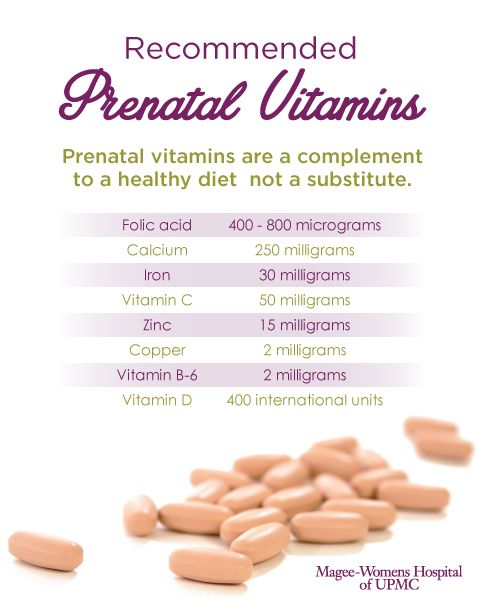 If you are pregnant or thinking about getting pregnant in the near future, prenatal vitamins are a great way to prepare your body for the demands of a healthy pregnancy and birth. Talk to your healthcare provider and use this easy reference guide but remember, prenatal vitamins are a complement to a healthy diet, not a substitute.  Pin this guide for later
