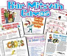Bar Mitzvah Games Pack