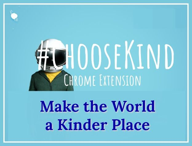 Check out ChooseKind to learn more about the Chrome extension that blocks mean social media posts and replaces them with kind messages. via @wonderoftech
