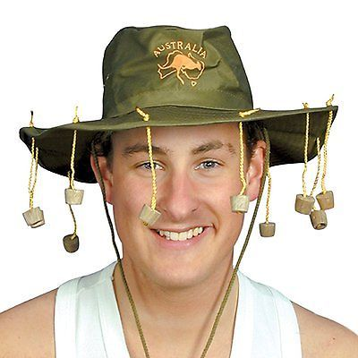 Australian theme crocodile fancy #dress #party dundee aussie cork #cricket hat, View more on the LINK: http://www.zeppy.io/product/gb/2/112107596852/