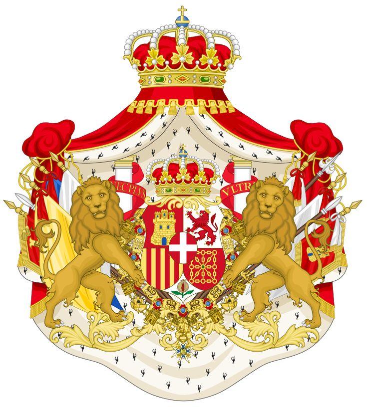 Stemma di Amedeo I di Savoia Re di Spagna