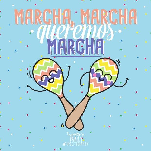 Ya es viernessssss y nuestro cuerpo pide marcha!!!! #tupecitos #tupecitosfamily #dibujo #ilustracion #marcha #micuerpopidemarcha #marchamarchaqueremosmarcha #desing #dibujos #dibujismolones #barcelonacreativa #maracas #fiesta #noche #maracas