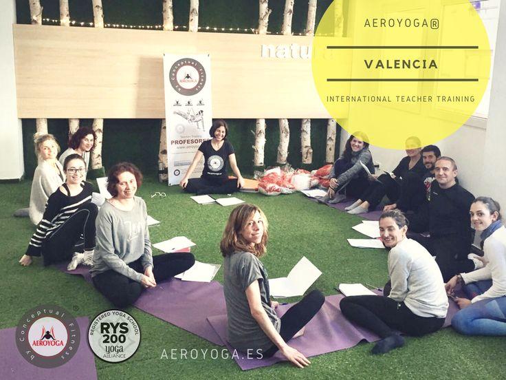 FORMACION PROFESORES AEROYOGA® Y AEROPILATES® OFICIAL VALENCIA - UN METODO DE RAFAEL MARTINEZ, INTRODUCTOR DEL YOGA AEREO Y EL PILATES AEREO EN EUROPA Y AMERICA LATINA #aeroyoga #aeropilates #weloveflying #airyoga #airpilates #aerialyoga #yoga #pilates #aero #acro #aerial #acrobatic #silks #telas #aerea #teachertraining #yogaaereo #yogaaerea #fly #flying #airyoga #cursos #clases #formacion #seminarios #valencia #alicante #murcia #castellon #ibiza #mallorca #xativa #altea #benidorm