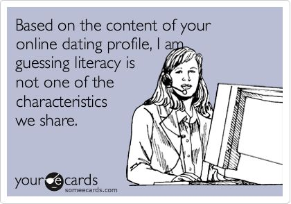 Funny ecards about online dating