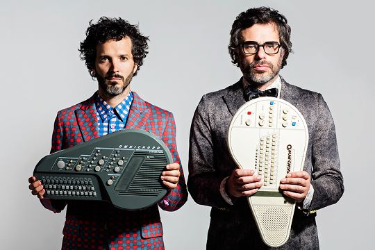Bret McKenzie and Jemaine Clement photographed by Matt Grace
