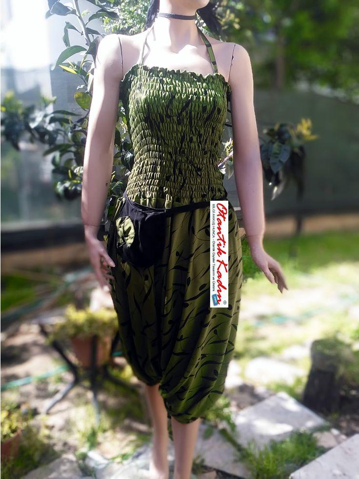 Otantik Tulum Şalvar - Yeşil - 110417 | Otantik Kadın, Otantik Giysiler, Elbiseler,Bohem giyim, Etnik Giysiler, Kıyafetler, Pançolar, kışlık Şalvarlar, Şalvarlar,Etekler, Çantalar,şapka,Takılar