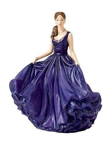 Royal Doulton Pretty Ladies Heather Figurine New In Box New 2014