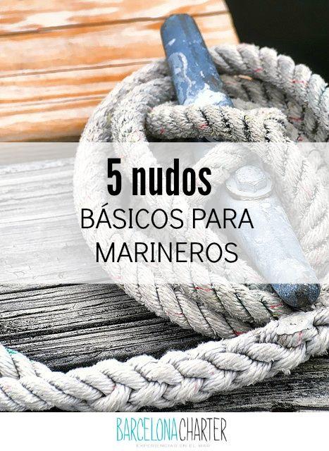 5 nudos básicos para marineros http://www.barcelonacharter.net/noticia-detallada/nudos-imprescindibles-para-disfrutar-del-alquiler-velero-barcelona #navegar   #velero   #mediterraneo   #verano2015   #barcelona   #seguridad